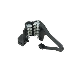 D6 зажим поддерживающий для FTTH кабелей  (4-8mm)